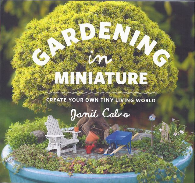 Janit Calvo: Gardening in Miniature, 256 pages